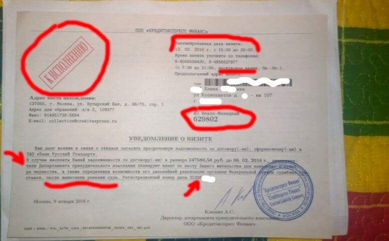 Кредит финанс москва коллектор коллекторское агентство русичи